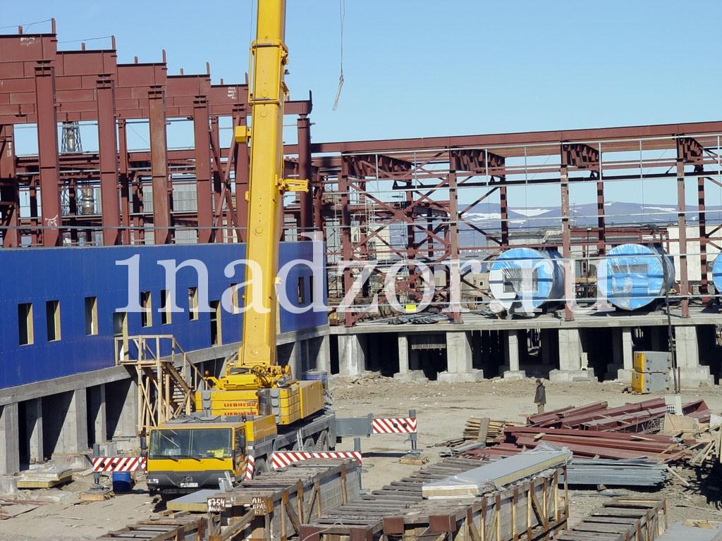 Строительство промышленных объектов (заводов, технопарков)