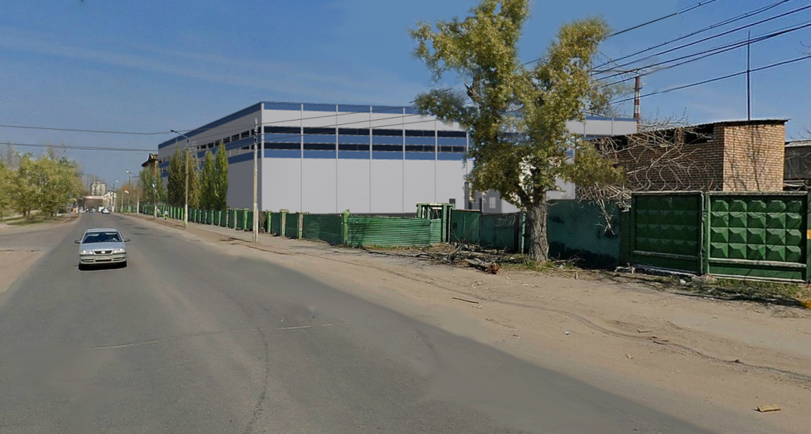 Cтроительства склада с пристроенным административно — бытовым зданием